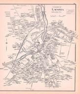 Laconia Village, New Hampshire State Atlas 1892 Uncolored